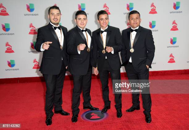Los Tercos attends the 18th Annual Latin Grammy Awards at MGM Grand Garden Arena on November 16 2017 in Las Vegas Nevada