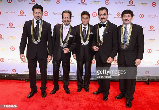 Los Tigres Del Norte receive the Legend Award at the 26th Annual Hispanic Heritage Awards presented by Target at the John F Kennedy Center for the...