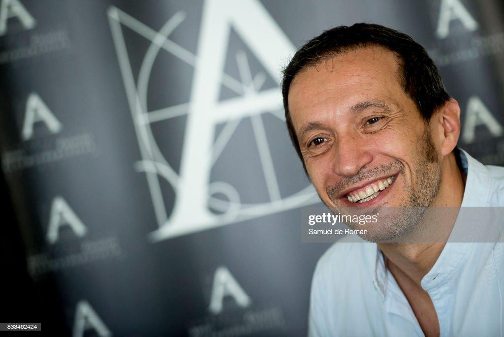 «Los ultimos de Filipinas« director Salvador Calvo during Spanish Cinema Academy Announces Pre Selection For Oscar Awards on August 17, 2017 in Madrid, Spain.