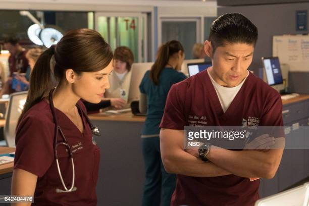 MED Lose Yourself Episode 216 Pictured Torrey DeVitto as Natalie Manning Brian Tee as Ethan Choi