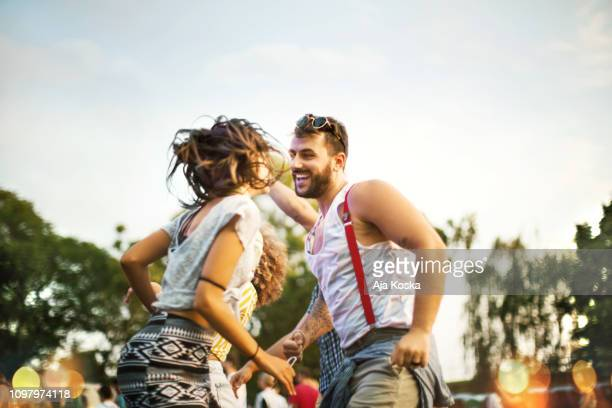 lose yourself to dance. - music festival stock pictures, royalty-free photos & images