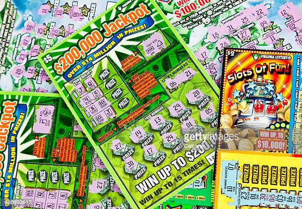 Losing Lottery Scratch-Off Cards