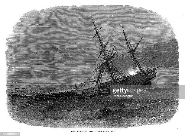 Loss of the troopship 'Birkenhead', South Africa, 1852. HMS 'Birkenhead', an iron paddle-steamer troopship sailed from Queenstown , Ireland, for the...