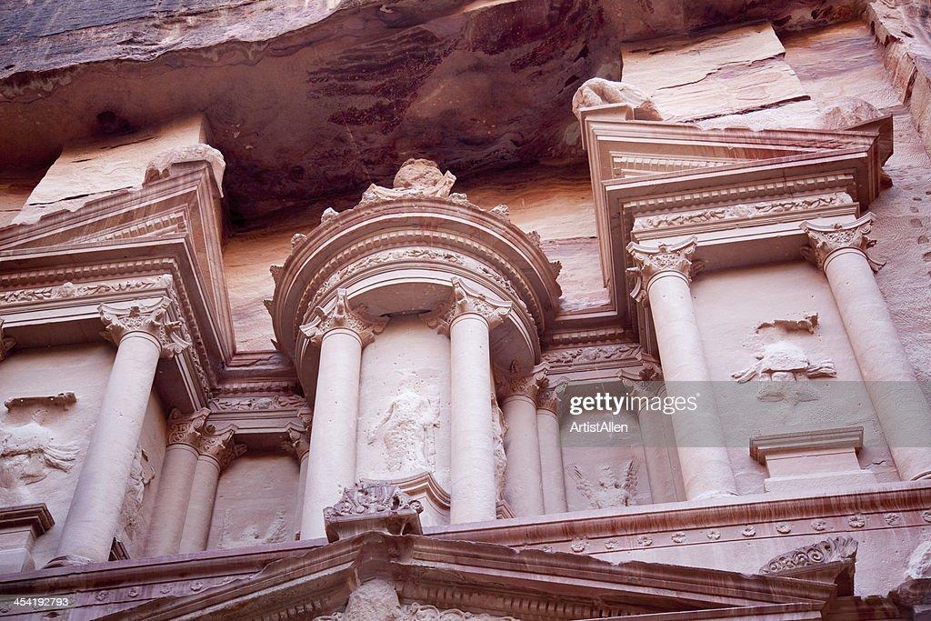 Verlorene Stadt Petra, Jordanien : Stock-Foto