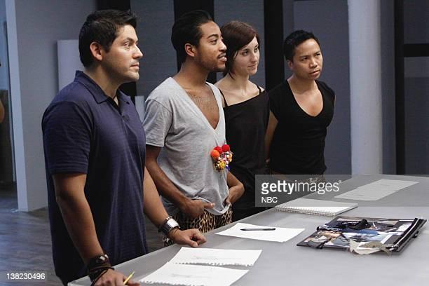 COLLECTION 'Lost Found' Episode 206 Pictured Contestants Eduardo de las Casas Jeffrey Williams Dominique Pearl David Calvin Tran