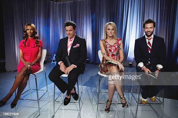 "Lost & Found"" Episode 206 -- Pictured: Judges Iman, Isaac Mizrahi, Laura Brown, Chris Benz"