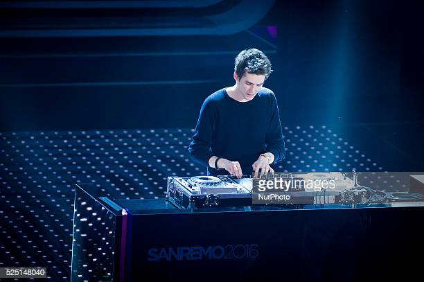 Lost Frequencies attends the 66th Sanremo Music Festival on February 12 2016