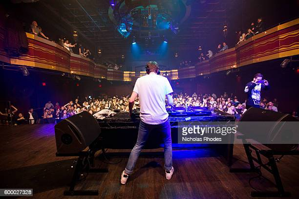 Lost Frequencies performs at Girls Boys at Webster Hall on January 29 2016