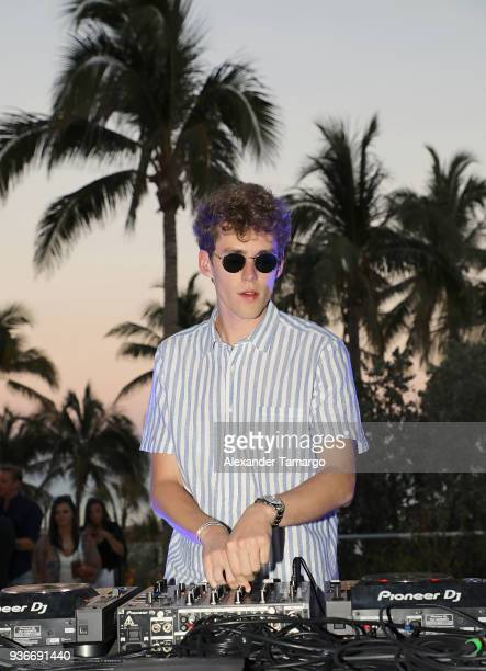 Lost Frequencies performs during SiriusXM's House Of Chill Miami Music Week Party At The Faena Hotel on March 22 2018 in Miami Beach City