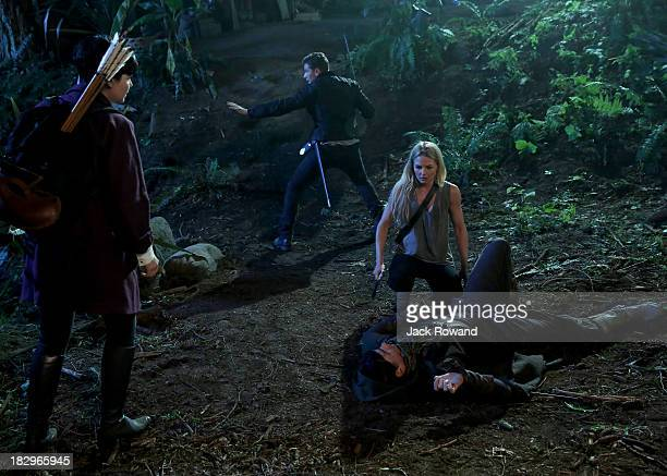 "Lost Girl"" - While Emma, Mary Margaret, David, Regina and Hook continue their search for Henry in Neverland, Peter Pan appears before a startled Emma..."