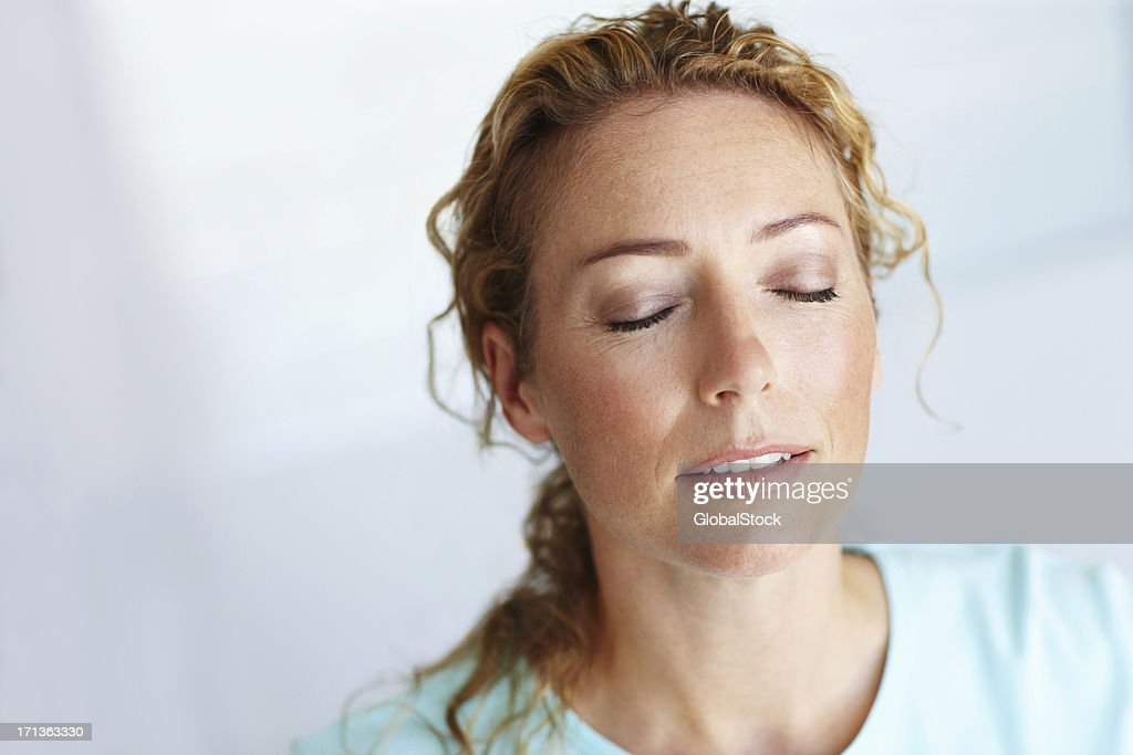 Lost in blissful daydreams... : Stock Photo