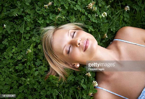 lost in dreams of spring - green dress stock pictures, royalty-free photos & images