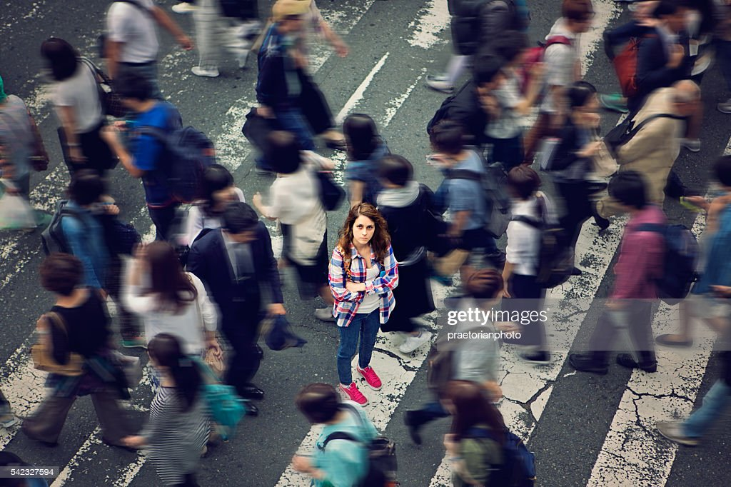 Lost in Japan : Stock Photo
