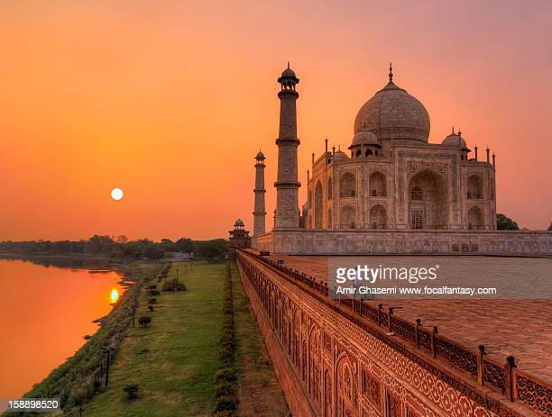 lost in the moment - taj mahal stock photos and pictures