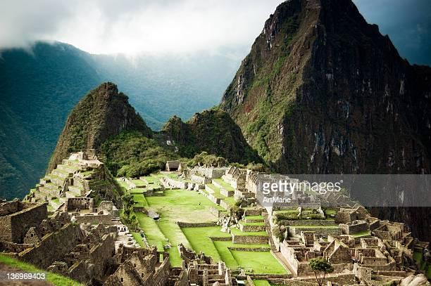 Lost Inca cidade Machu Picchu