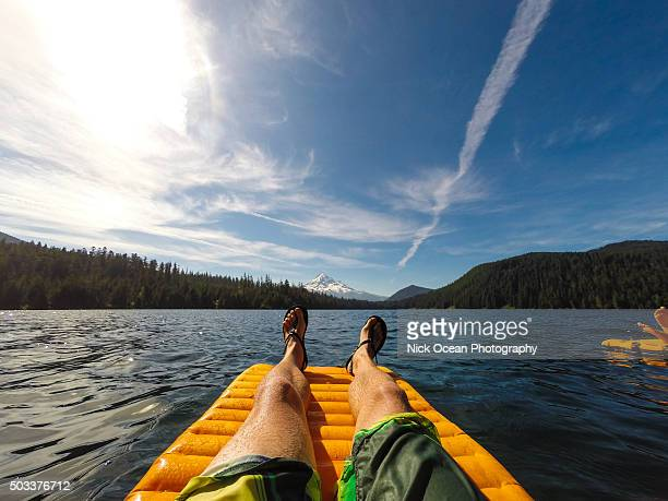 lost lake, mt hood, oregon - stoking stock pictures, royalty-free photos & images
