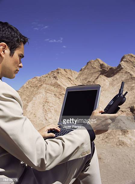 Lost man in desert with satellite phone