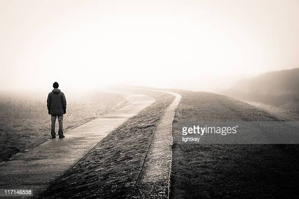 lost man - staring stock photos and pictures