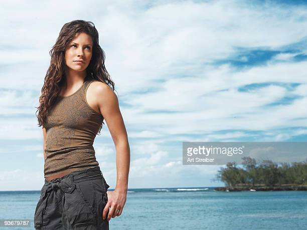LOST 'Lost' stars Evangeline Lilly as Kate
