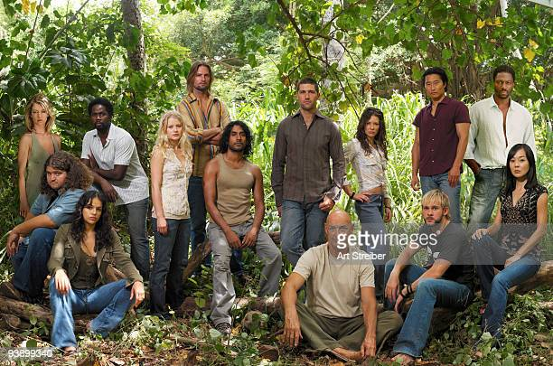LOST 'Lost' stars Jorge Garcia as Hurley Michelle Rodriguez as Ana Lucia Harold Perrineau as Michael Emilie de Ravin as Claire Josh Holloway as...