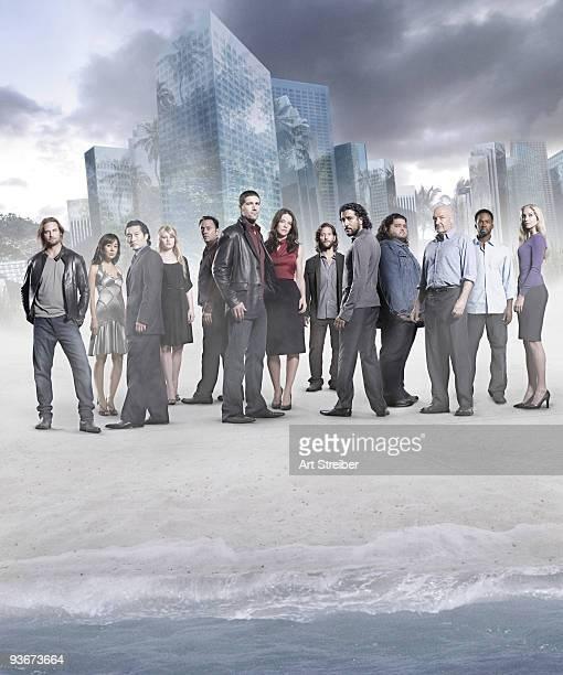LOST Lost stars Naveen Andrews as Sayid Henry Ian Cusick as Desmond Emilie de Ravin as Claire Michael Emerson as Ben Matthew Fox as Jack Jorge Garcia...