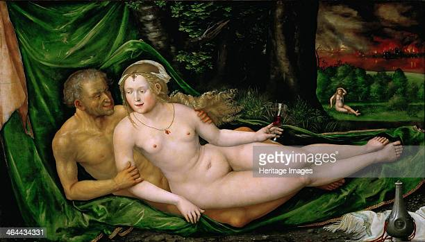 Lot and his Daughters 1537 Found in the collection of the Art History Museum Vienne