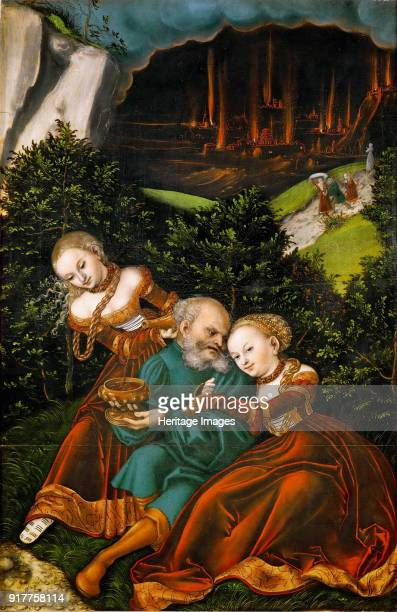 Lot and his Daughters Found in the Collection of Art History Museum Vienne