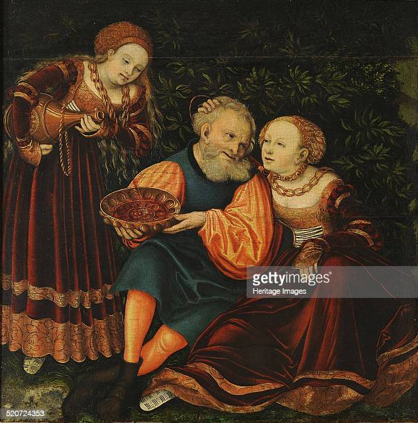 Lot and his Daughters Found in the collection of Veste Coburg