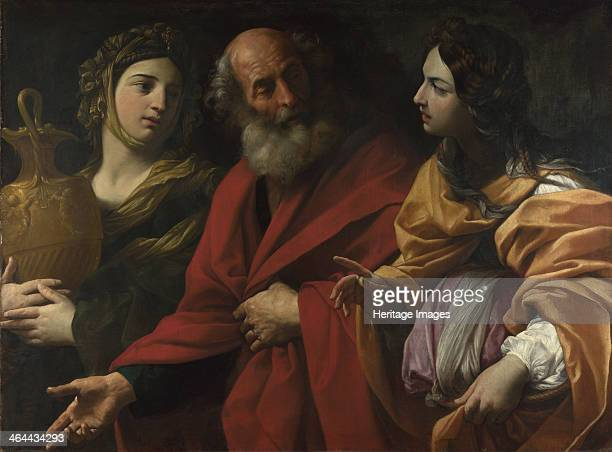 Lot and his Daughters leaving Sodom c 1615 Found in the collection of the National Gallery London