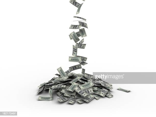 Lot of US Money Falling