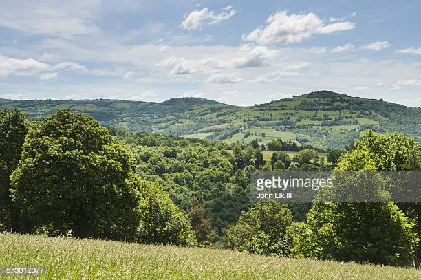 Lot valley landscape