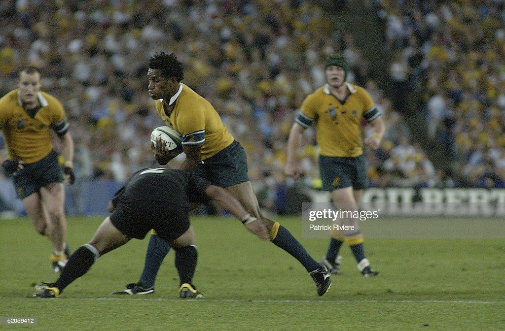 Lote Tuqiri of Australia : News Photo