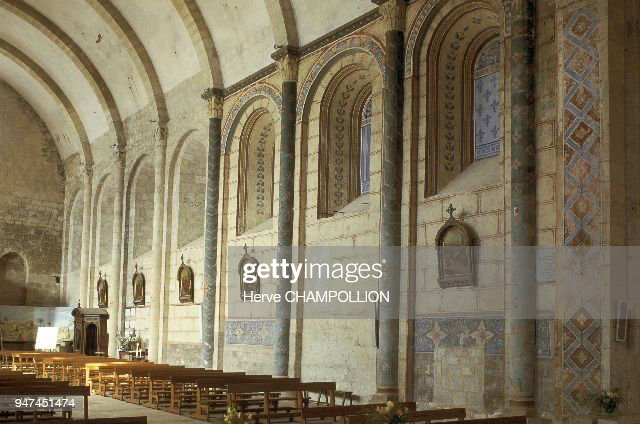 Layrac church, in Roman architectural style Pictures | Getty Images