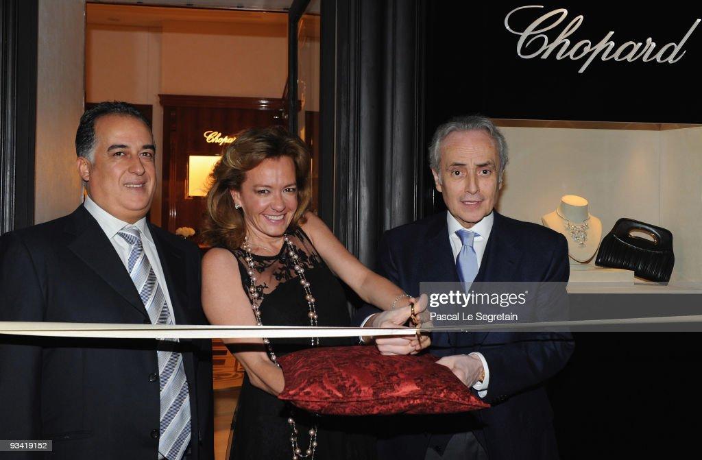 Chopard Flagship Boutique  Launch in Hotel La Mamounia : Fotografia de notícias