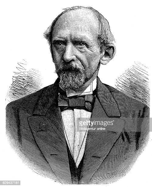 Lothar bucher 1817 1892 politician publicist and close aide of bismarck historical illustration circa 1893