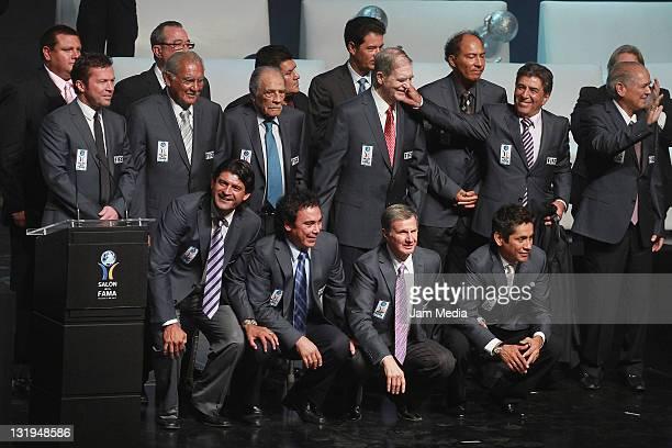 Lothar Mattaus, Antonio Carbajal, Ignacio Trelles, Raul Cardenas, Evanivaldo Castro, Carlos Reinoso, Salvador Reyes, Jose Saturnino Cardozo, Hugo...