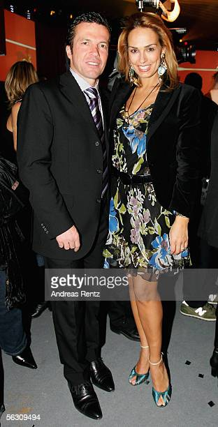 Lothar Matthaeus and Marijana Matthaeus attend the Tribute to Bambi Charity Gala After Show at the Postkantine on November 30 2005 in Munich Germany