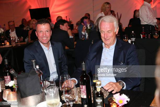 Lothar Matthaeus and Rainer Bonhof during the 30th anniversary celebration of the German World Cup win at 1990 on October 10, 2020 at hotel Il...
