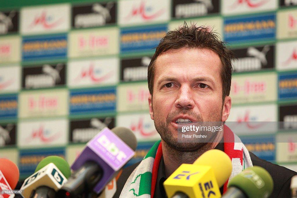 Bulgaria Presents Lothar Matthaeus As New Head Coach