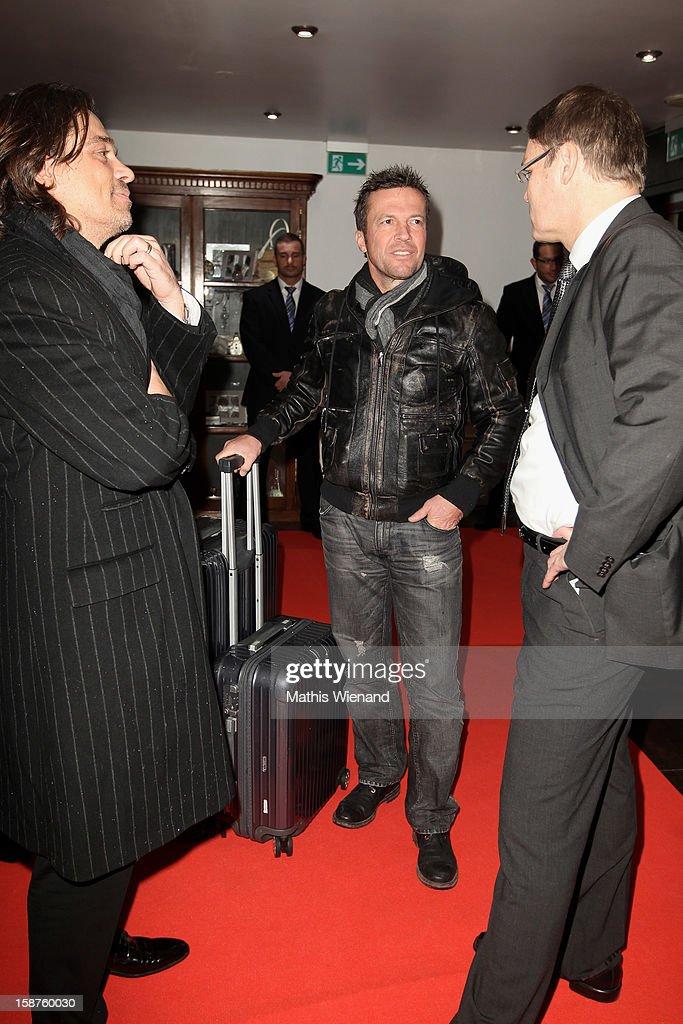 Lothar Matthaeus attends the Silver Fox Charity Gala at Hotel van der Falk on December 22, 2012 in Moers, Germany.