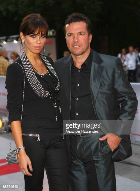 Lothar Matthaeus attends with Kristina Liliana the 'Movie Meets Media' party at discotheque P1 on June 29, 2009 in Munich, Germany.