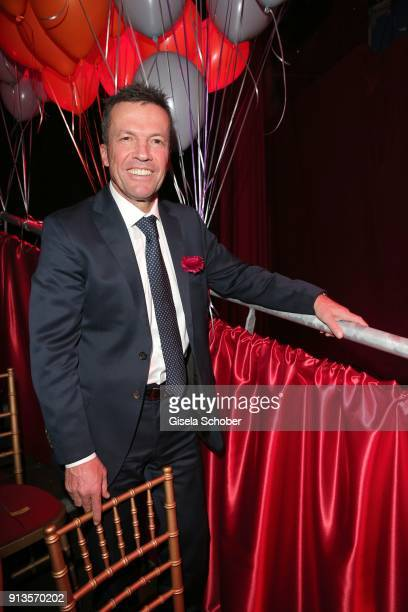 Lothar Matthaeus during Michael Kaefer's 60th birthday celebration at Postpalast on February 2 2018 in Munich Germany