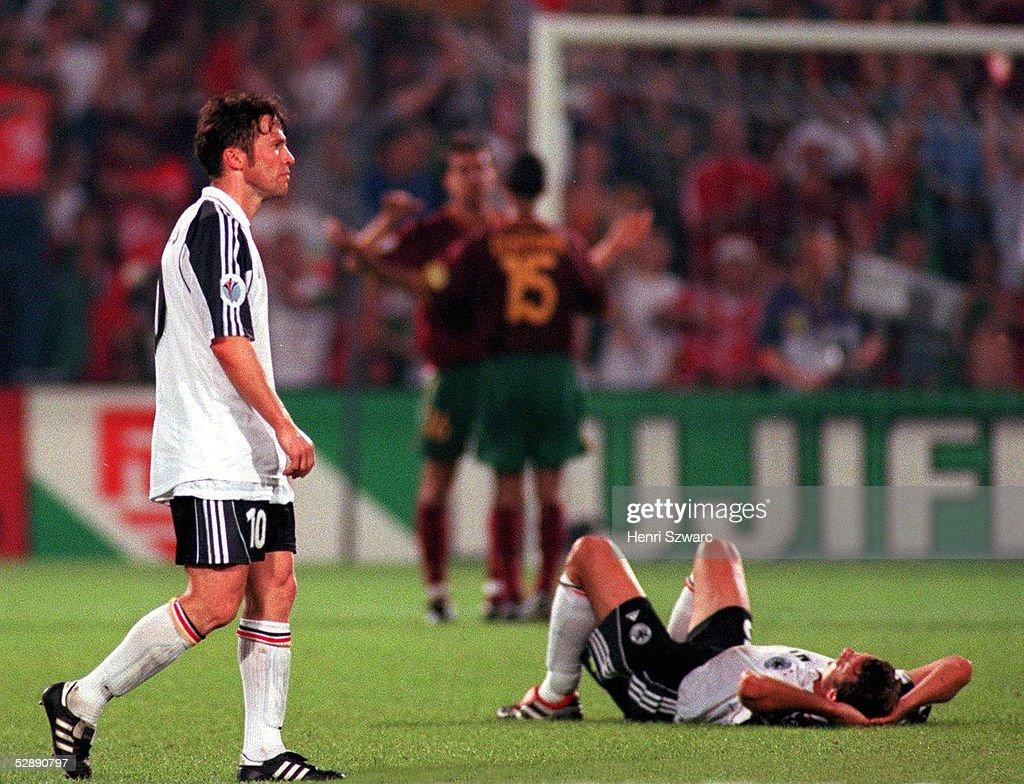 EURO 2000: PORTUGAL - DEUTSCHLAND 3:0 : News Photo