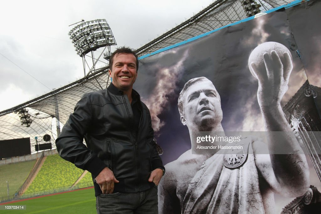 'Day Of Legends' Kick Off With Lothar Matthaeus