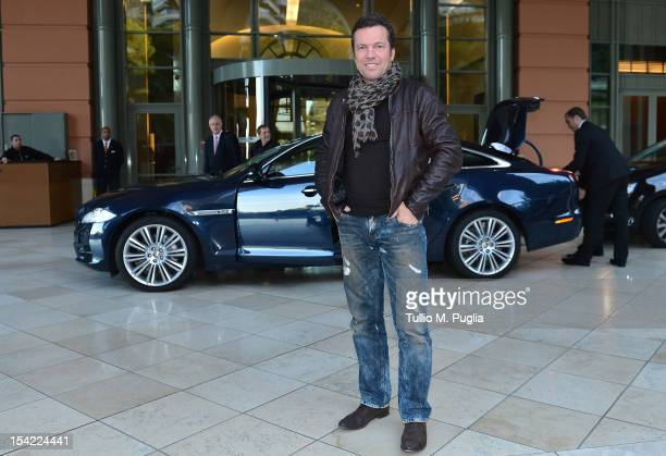 Lothar Matthaus arrives at MonteCarlo Bay on October 16 2012 in MonteCarlo Monaco