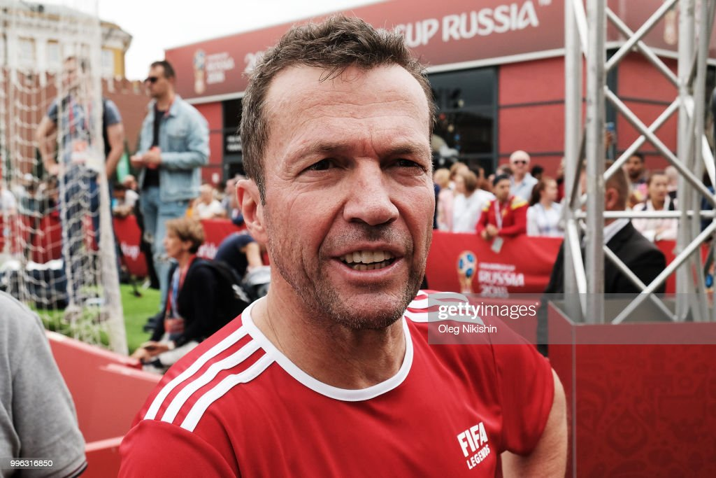 Legends Football Match - 2018 FIFA World Cup Russia : News Photo