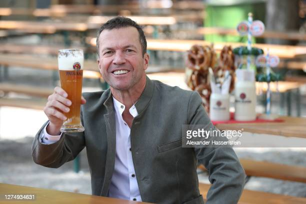 Lothar Matthäus attends the FC Bayern Muenchen and Paulaner photo session at Nockherberg on September 21, 2020 in Munich, Germany.