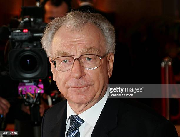 Lothar Spaeth arrives at the 15th German Media Award 2006 at the Congress Hall on February 7 2007 in BadenBaden Germany