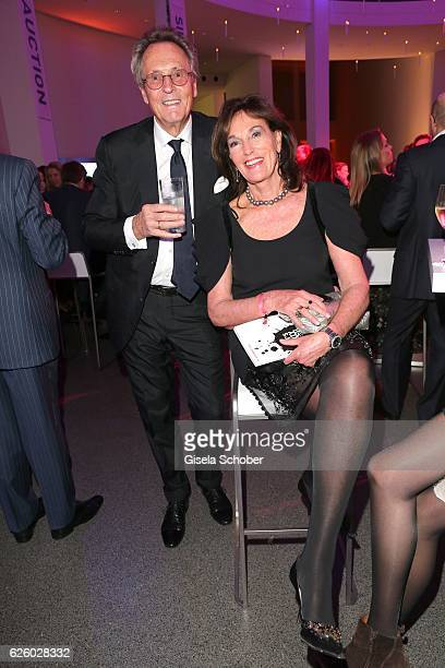 Lothar Strobach and his wife Constanze NeuhannLorenz during the PIN Party Let's party 4 art' at Pinakothek der Moderne on November 26 2016 in Munich...