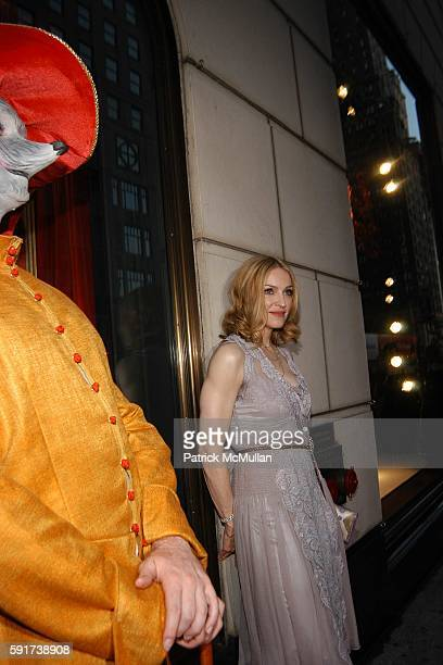 Lotsa de Casha and Madonna attend Madonna Childrens Book Lotsa de Casha published by Callaway Arts and Entertainment at Bergdorf Goodman on June 7...